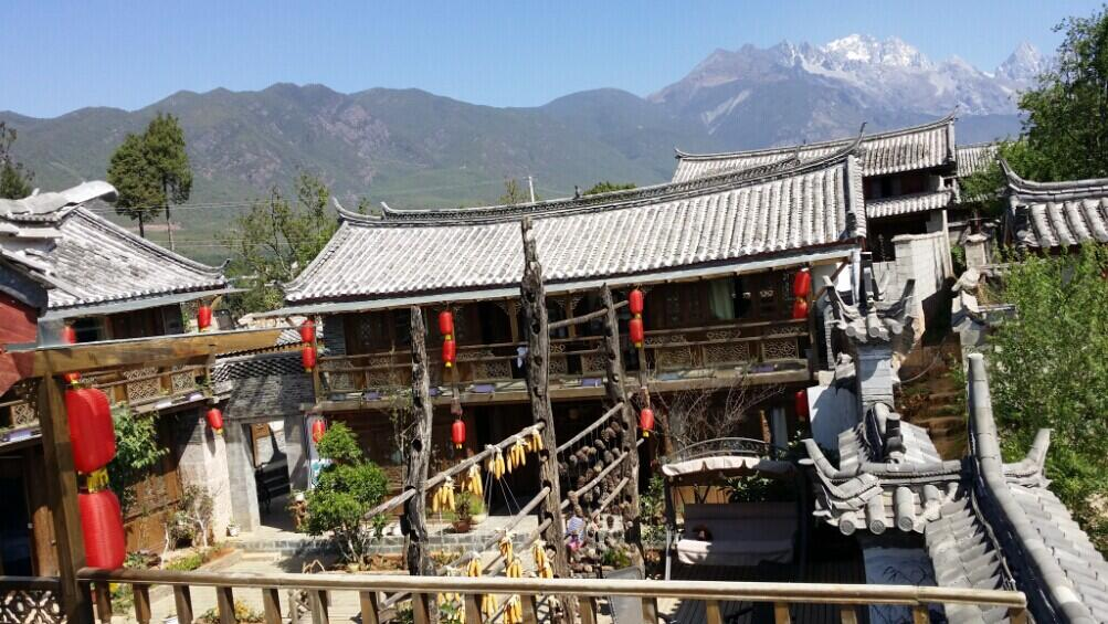 Baisha Ancient Town in Lijiang