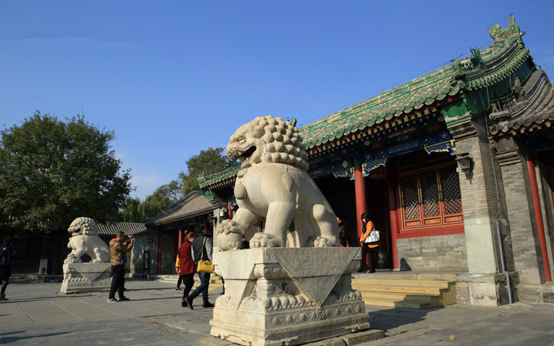 Hutongs and Courtyards in Beijing