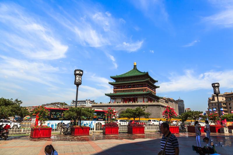 Bell Tower in Xian