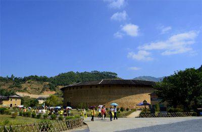 Dadi Tulou Cluster in Huaan County, Zhangzhou