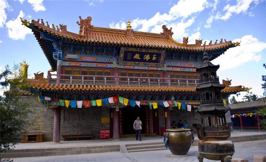 Dazhao Temple (Ih Juu Temple) in Hohhot