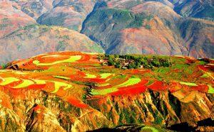 Dongchuan Red Land in Kunming