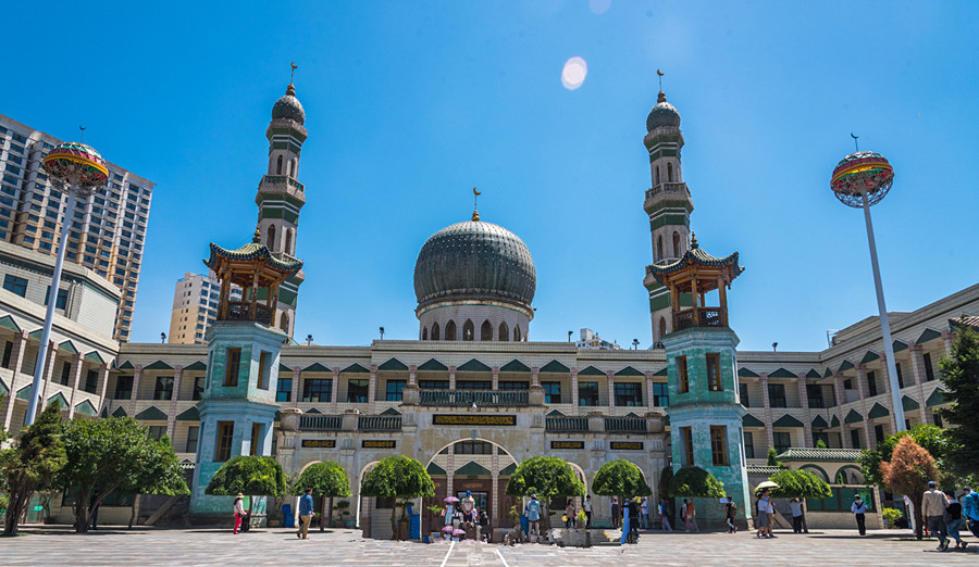 Dongguan Great Mosque in Xining