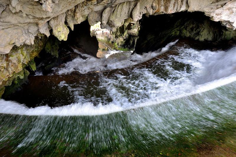 cave dragon palace anshun china entrance