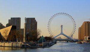 Ferris Wheel in Tianjin