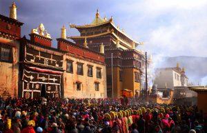 Ganden Songzanlin Monastery in Shangrila