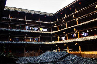Heguilou (Hegui Building) in Nanjing County, Zhangzhou