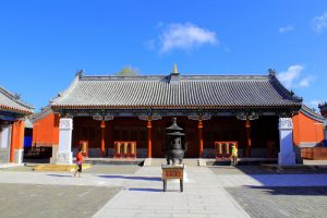 Huizong Temple in Duolun County, Inner Mongolia