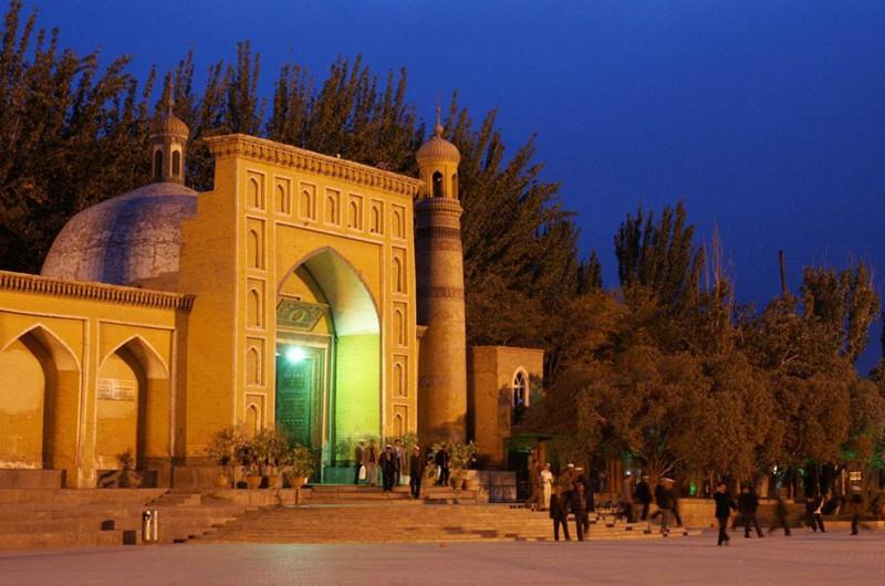 Idkah Mosque in Kashgar