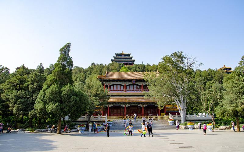 Jingshan Park in Beijing