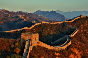 Jinshanling Great Wall in Beijing