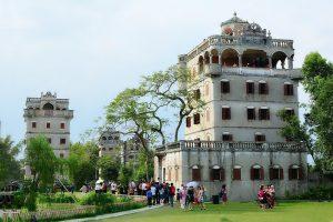 Kaiping Watchtowers in Kaiping City, Jiangmen