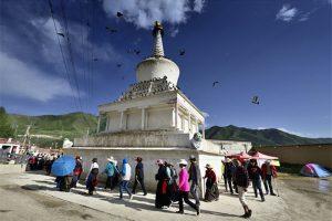 Labrang Monastery in Xiahe County,Gannan