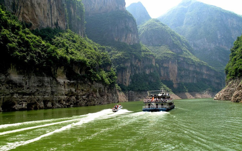 Little Three Gorges in Wushan County, Chongqing