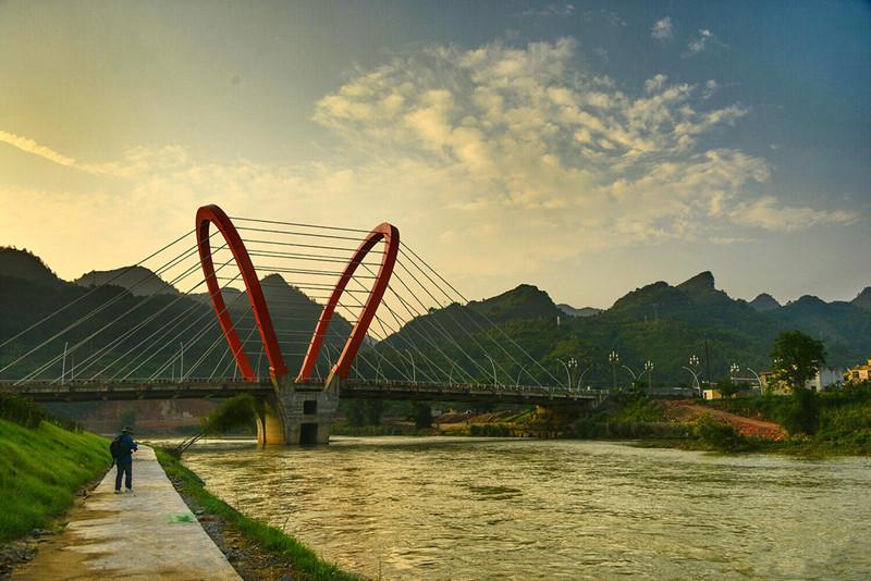 Libo Zhangjiang Scenic Area in Qiannan