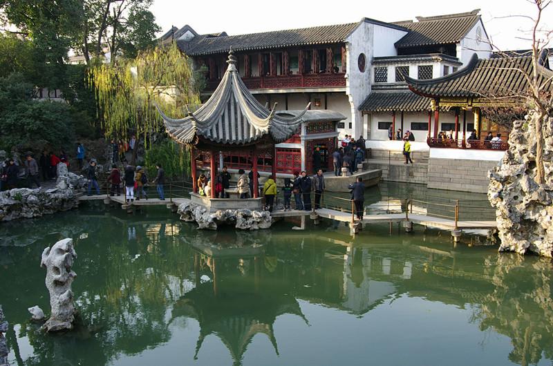 Lion Grove Garden (Shizilin) in Suzhou