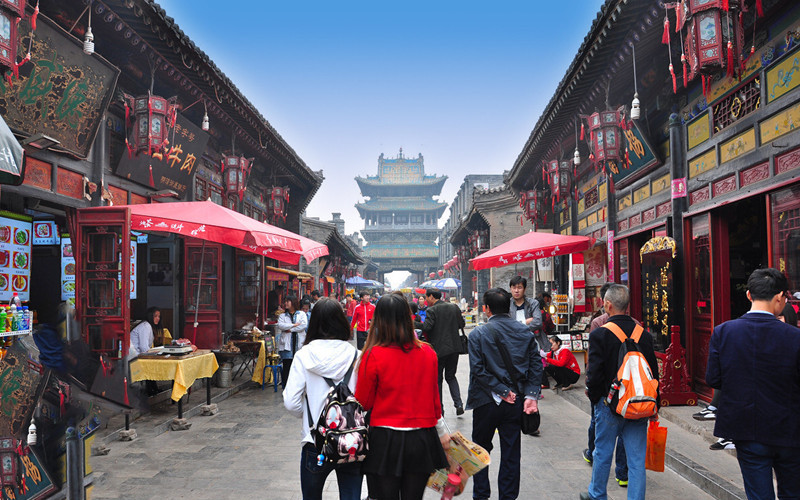 Ming and Qing Dynasties Street in Pingyao