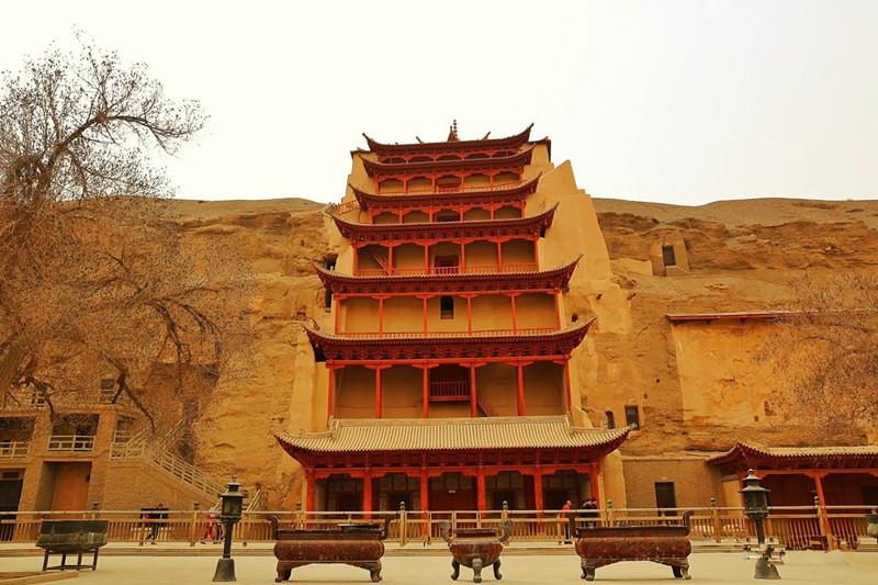 Mogao Caves in Dunhuang, Gansu