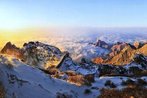 Mount Taishan in Taian, Shandong