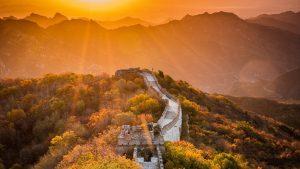 Mutianyu Great Wall in Beijing