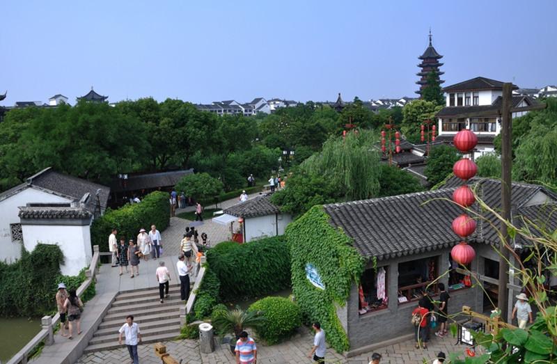 Panmen Scenic Area (Pan Gate) in Suzhou