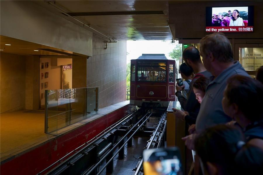 Peak Tram in Hong Kong