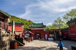Prince Slope (Fuzhenguan) in Mount Wudang
