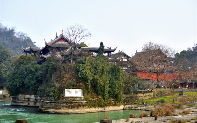 Qingcheng Mountain in Dujiangyan, Chengdu
