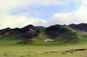 Riyue Mountain in Xining, Qinghai
