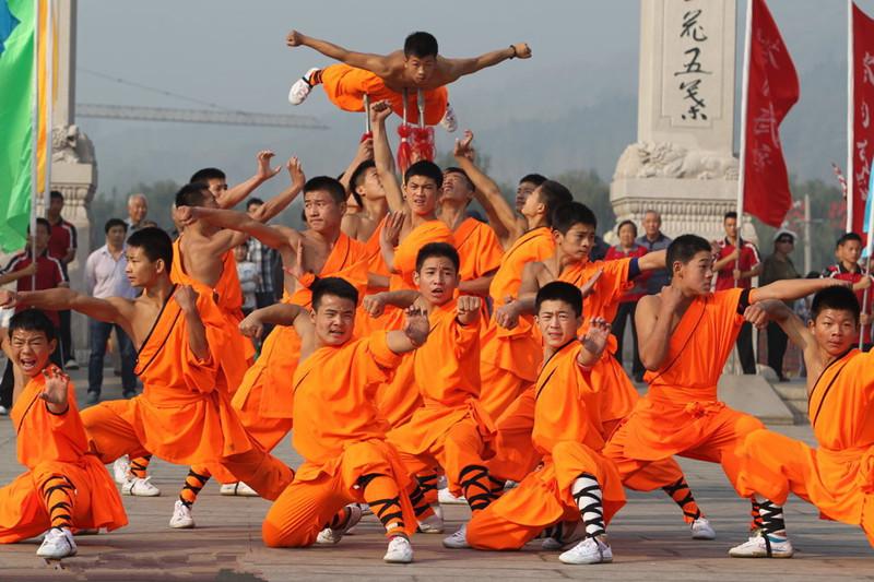 Shaolin Temple (Shaolinsi) in Dengfeng, Zhengzhou