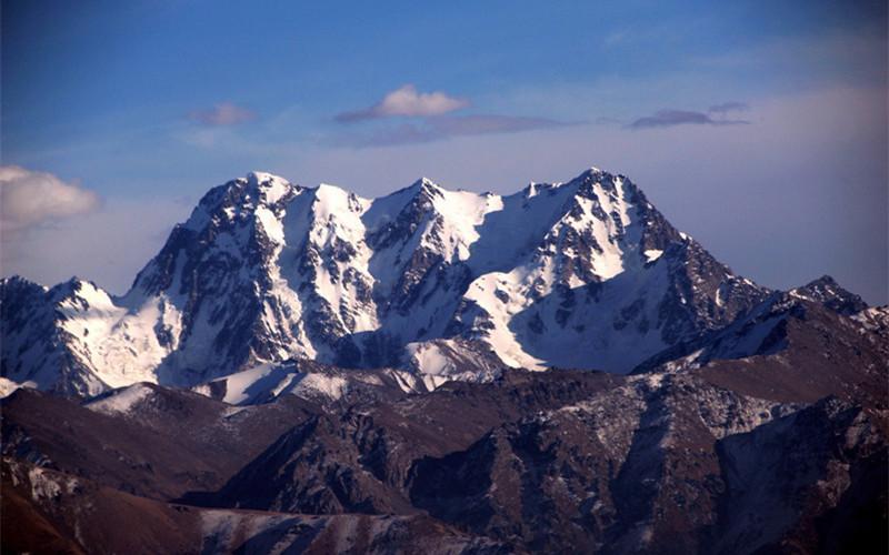 The Bogda Peak in Urumqi