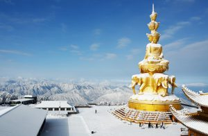 The Golden Summit Temple of Mount Emei
