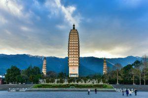 Three Pagodas and Chongsheng Monastery in Dali