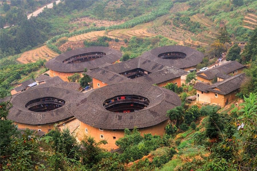 Tianluokeng Tulou Cluster in Nanjing County, Zhangzhou