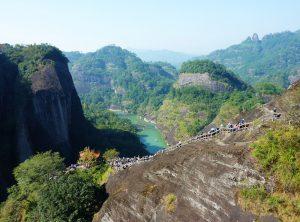 Wuyi Mountains in Fujian
