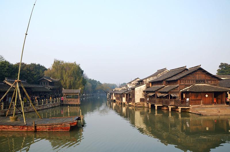 Wuzhen Water Town in Tongxiang, Jiaxing