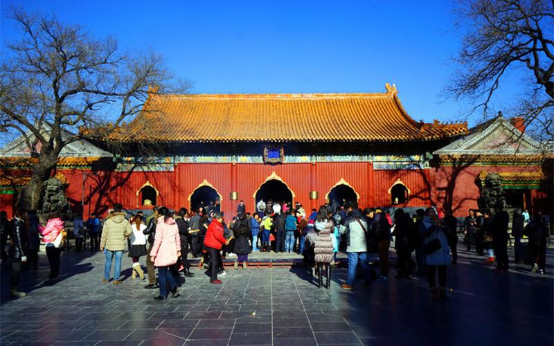 Yonghe Lamasery in Beijing