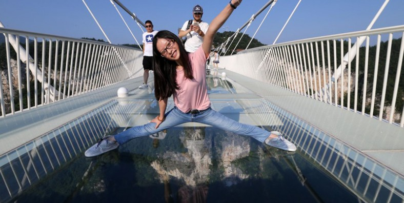 1 Day Zhangjiajie Grand Canyon Glass Bridge Tour