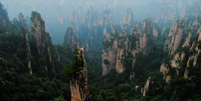 4 Days Zhangjiajie National Forest Park & Tianmen Mountain Tour