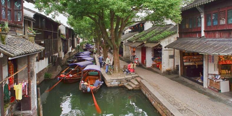 1 Day Zhouzhuang and Tongli Water Towns Tour