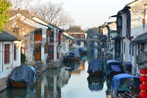 Zhouzhuang Water Town in Kunshan, Suzhou