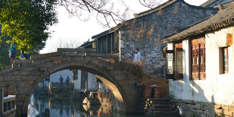 1 Day Zhouzhuang Water Town Group Tour with Culture & Folks Show