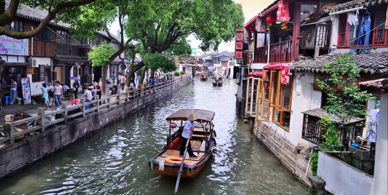 1 Day Zhujiajiao Water Town Tour from Shanghai