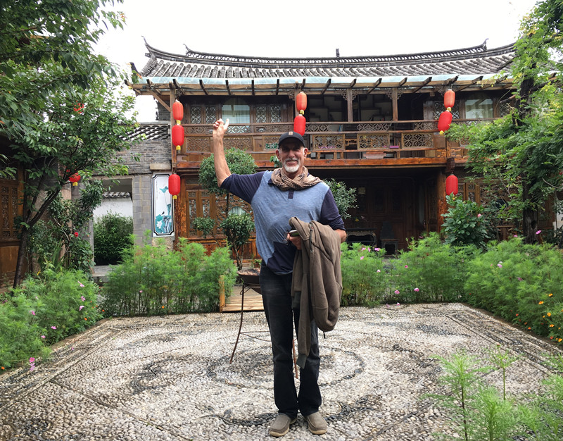 Gary Elliot-Editor of YChinaTours from USA Working in Lijiang Yunnan