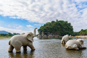 Elephant Trunk Hill (Xiangbishan) in Guilin