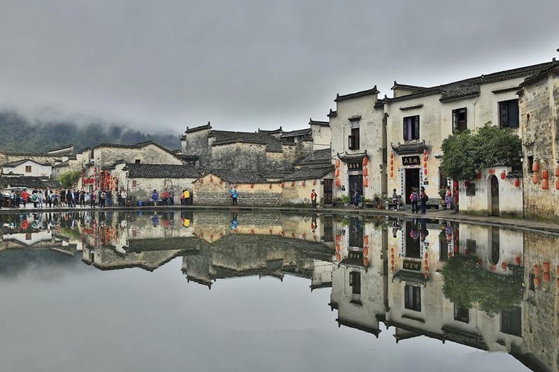 Hongcun Ancient Village in Huangshan