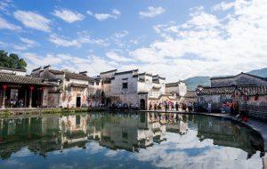 Hongcun Ancient Village in Yixian County, Huangshan