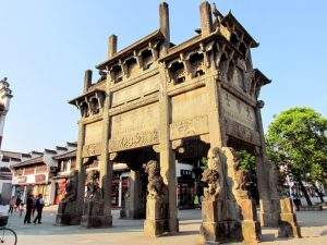 Huizhou Ancient Town in Shexian County, Huangshan