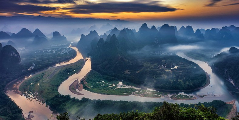 5 Day Guilin and Yangshuo Tour with Huangyao Ancient Town