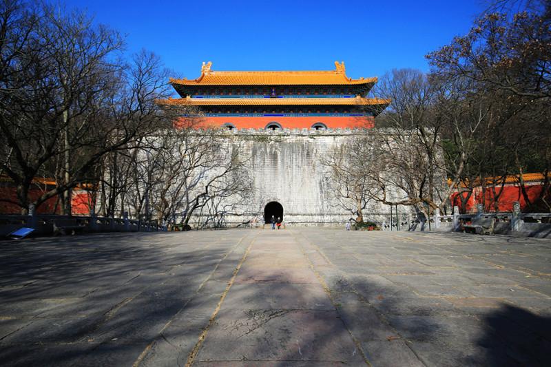 Ming Xiaoling Mausoleum in Nanjing
